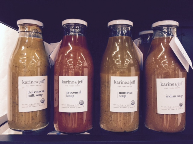 Karine & Jeff is bringing the focus back to veggies with its line of tastefully labeled vegan soups.