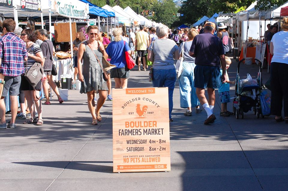 'We grow what we sell' has been the mantra for Boulder County Farmers Market since its inception.